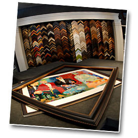 Custom Framing Artwork & Gifts